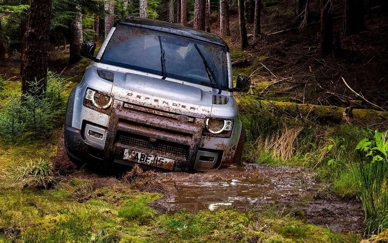 Новый Land Rover Defender: перечисляем главные отличия— фото 998218