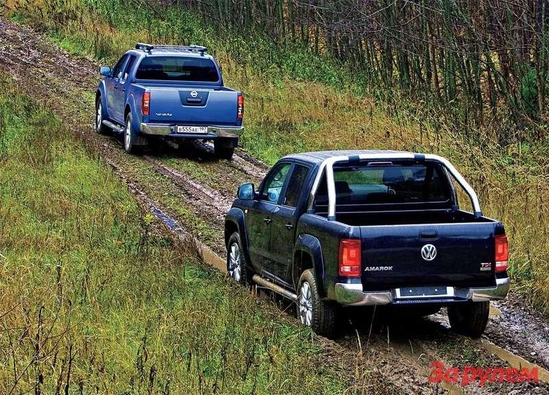 Nissan Navara, Volkswagen Amarok