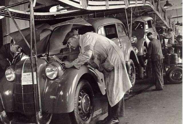 Наконвейере Opel— первый Кadett
