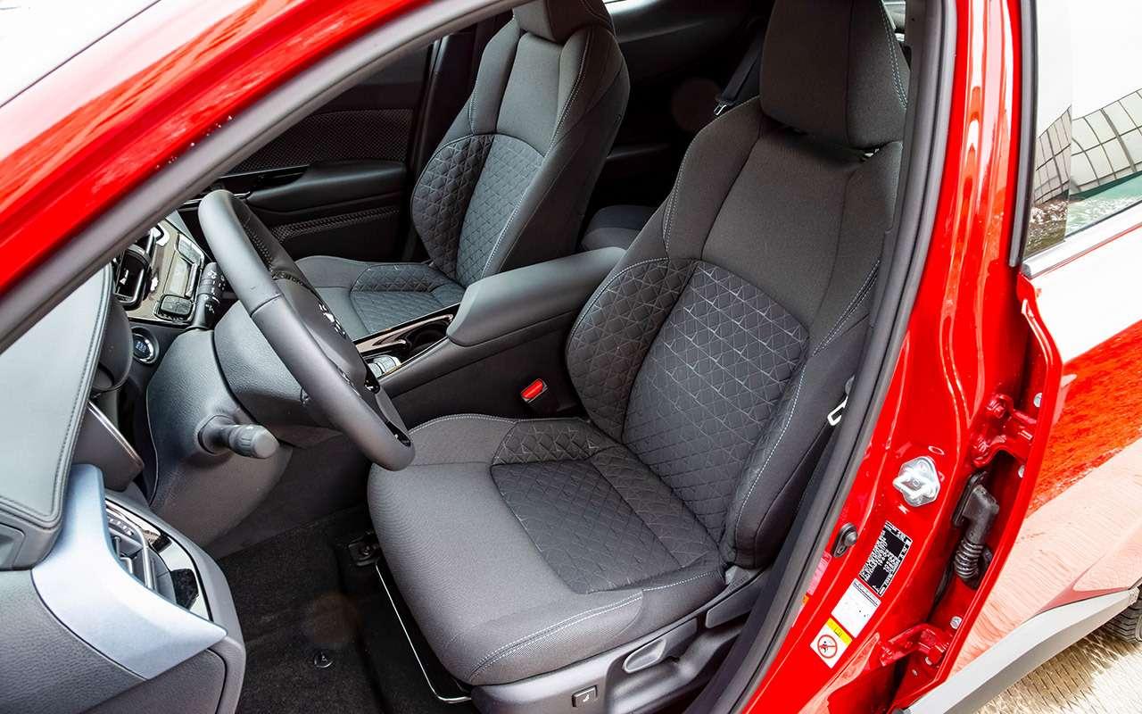 Обновленный Toyota C‑HR: все вопросы— ккомплектациям!— фото 1121381