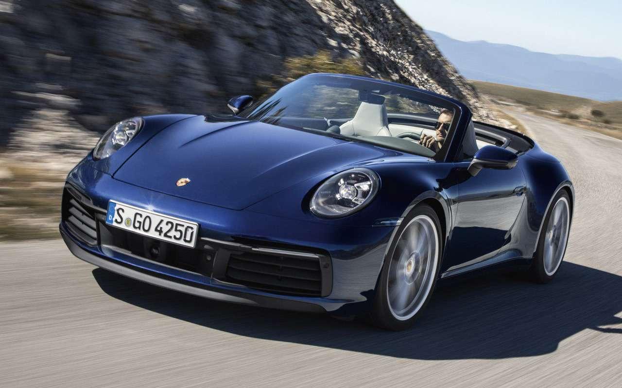 Всеоновом кабриолете Porsche 911— фото 939354