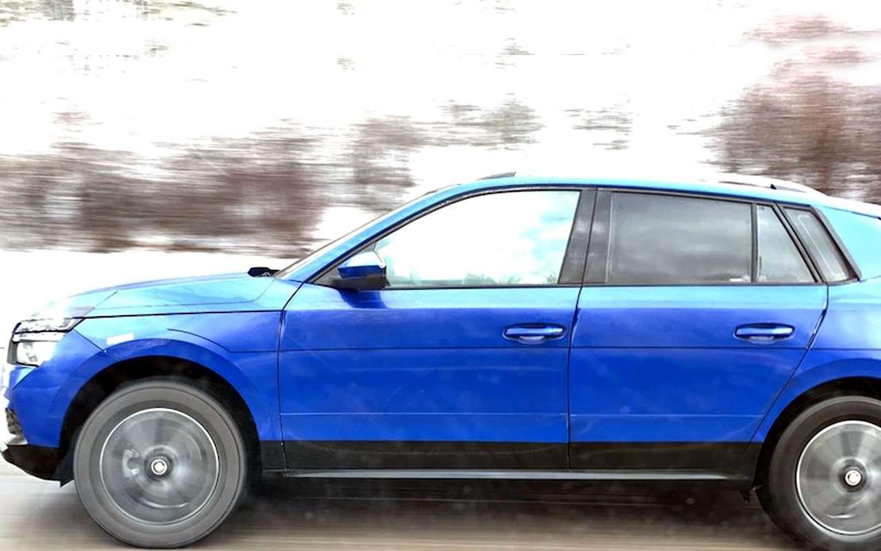 Самый дешевый кроссовер Skoda: первые фото ивидео серийной версии— фото 947072