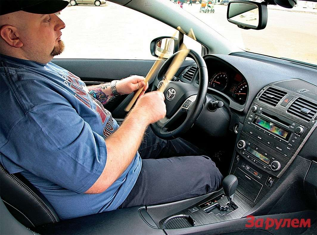 Автоматическая трансмиссия икруиз-контроль провоцируют водителя прямо находу променять руль напалочки. Ноподдаваться такому искушению все жене стоит.