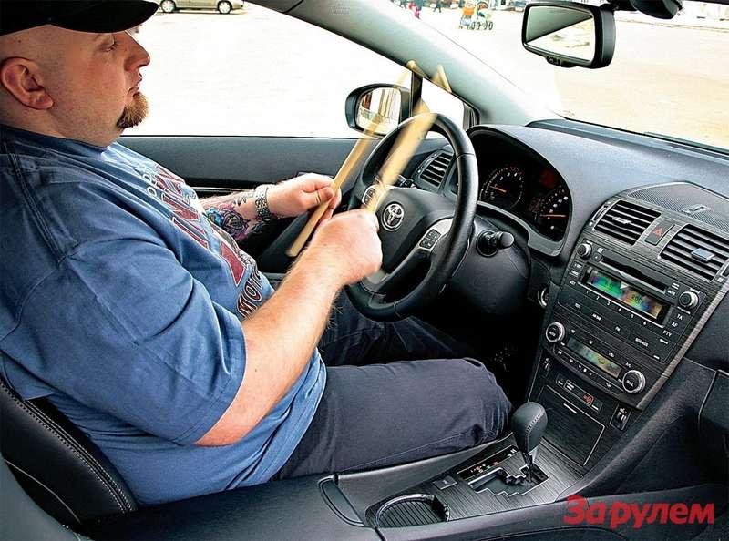 Автоматическая трансмиссия икруиз-контроль провоцируют водителя прямо находу променять руль напалочки. Ноподдаваться такому искушению все женестоит.