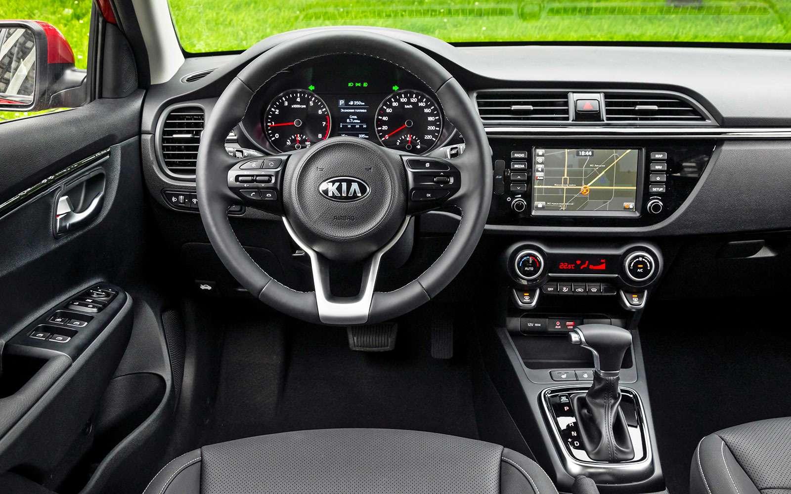 Новый Kia Rio— первый тест-драйв серийного автомобиля— фото 774550