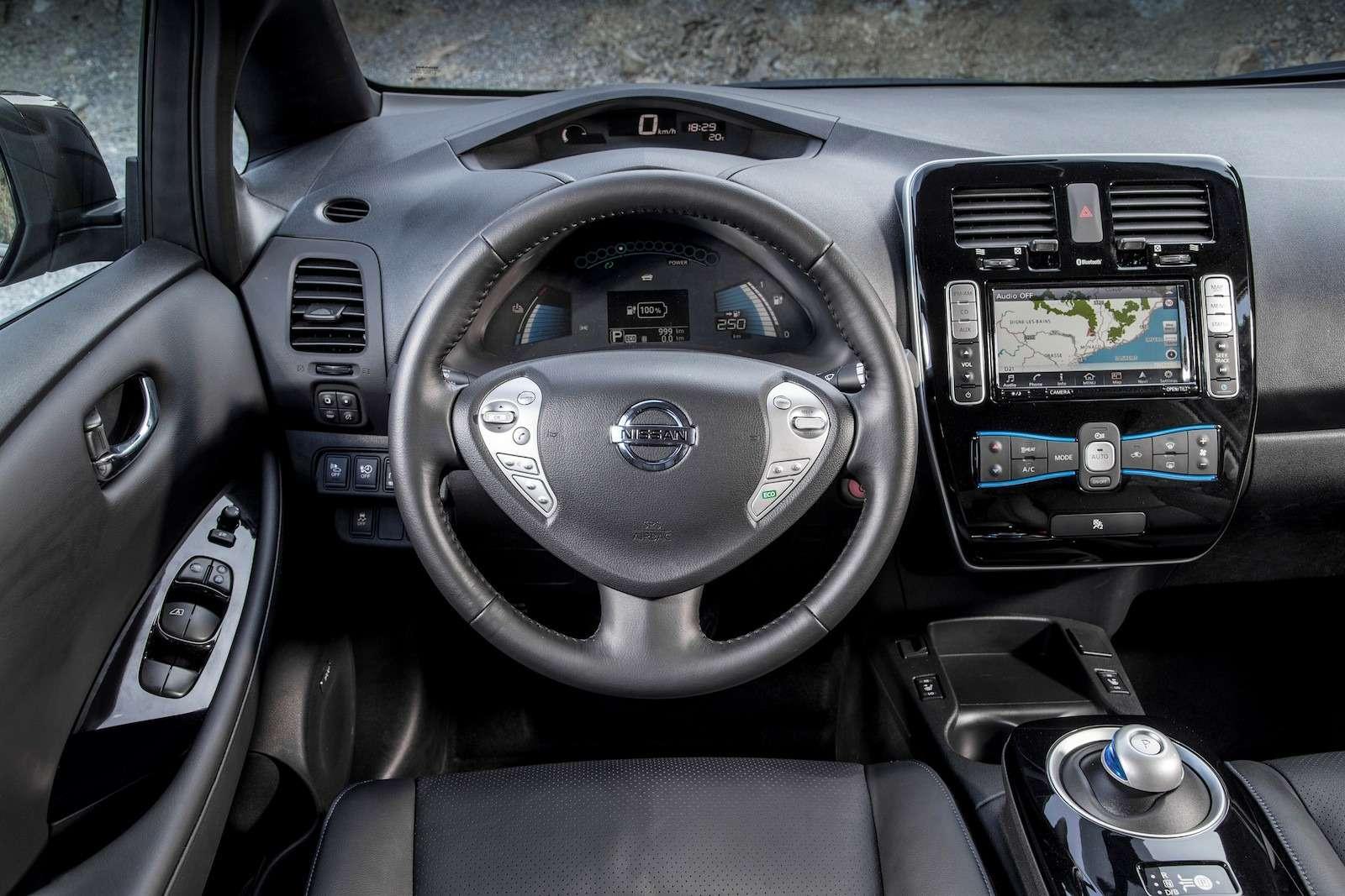Будущее электромобилей Nissan: вольты сколес— фото 596339