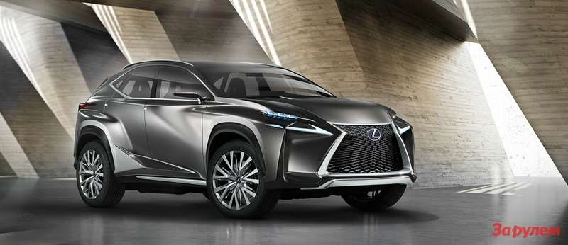 Lexus LF NX 3qfront low res