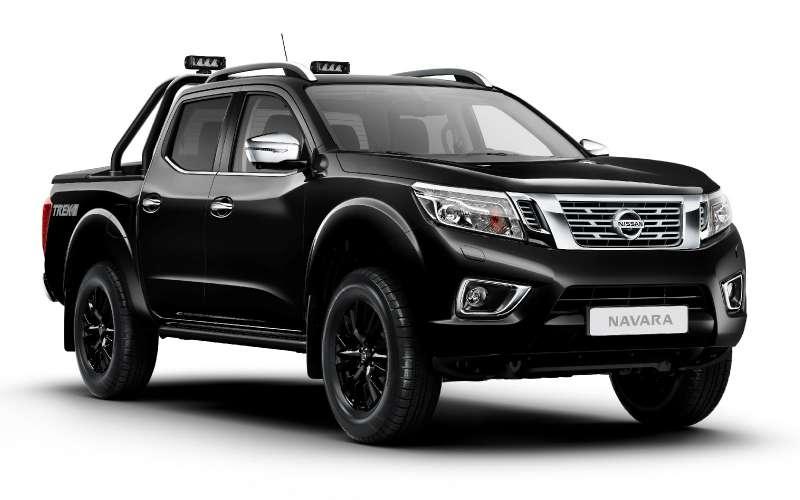 Пикап подградусом: Nissan Navara предстал вэксклюзивном наряде