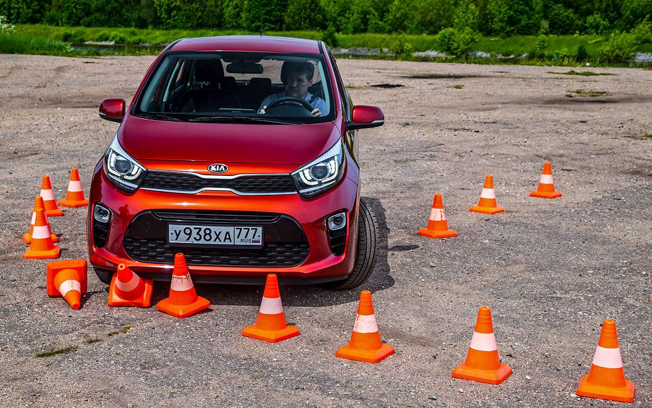 Большой тест маленьких хэтчбеков: Kia Picanto, Datsun mi-DO иSmart ForFour— фото 796014