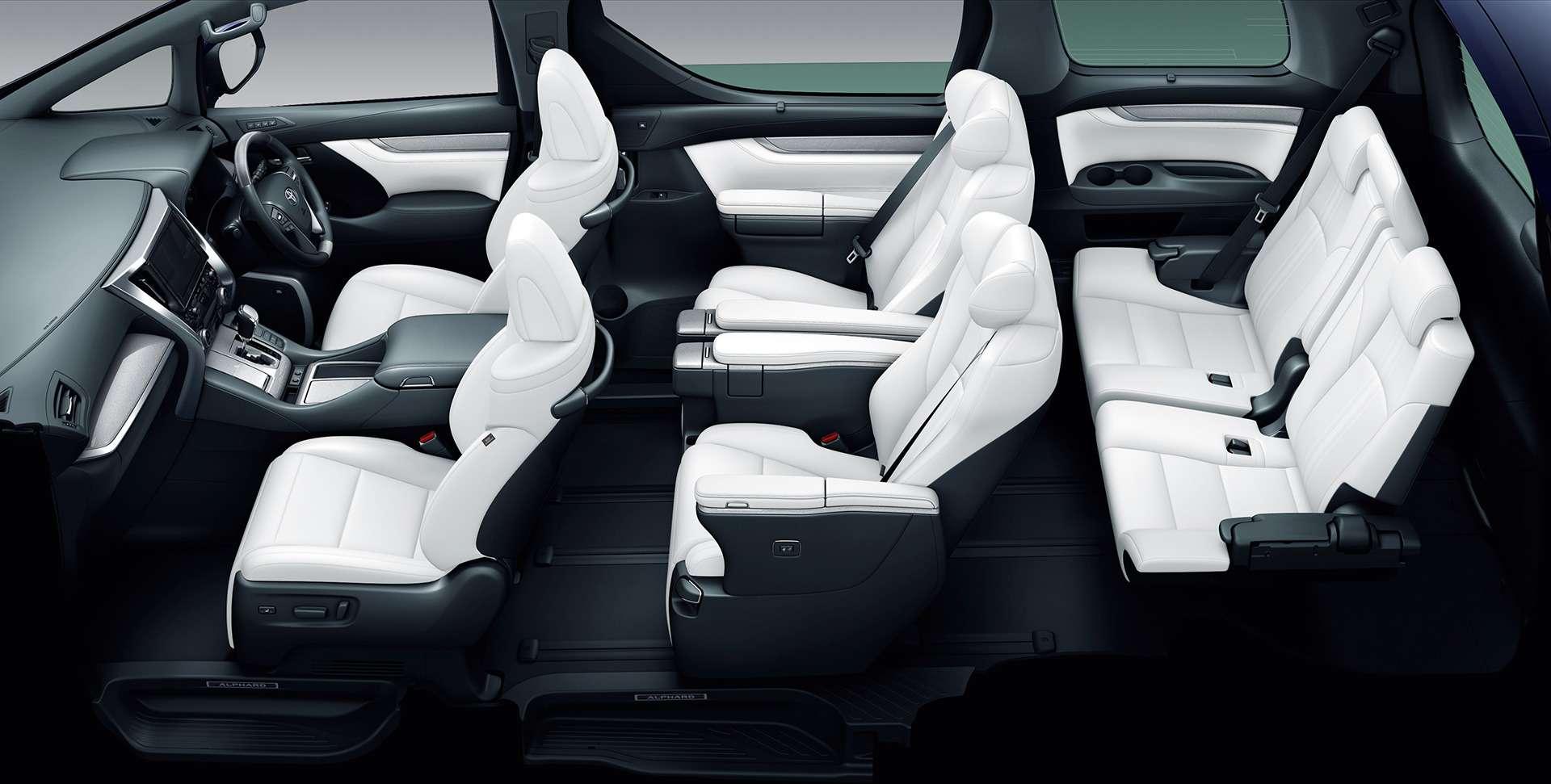 Обновленный Toyota Alphard: маски-шоу иновый силовой агрегат— фото 829975