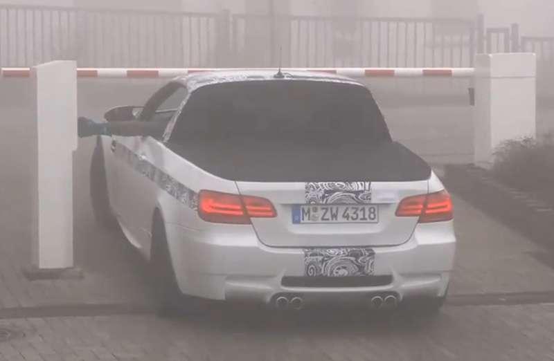 Пикап BMW M3поздравил всех с1апреля