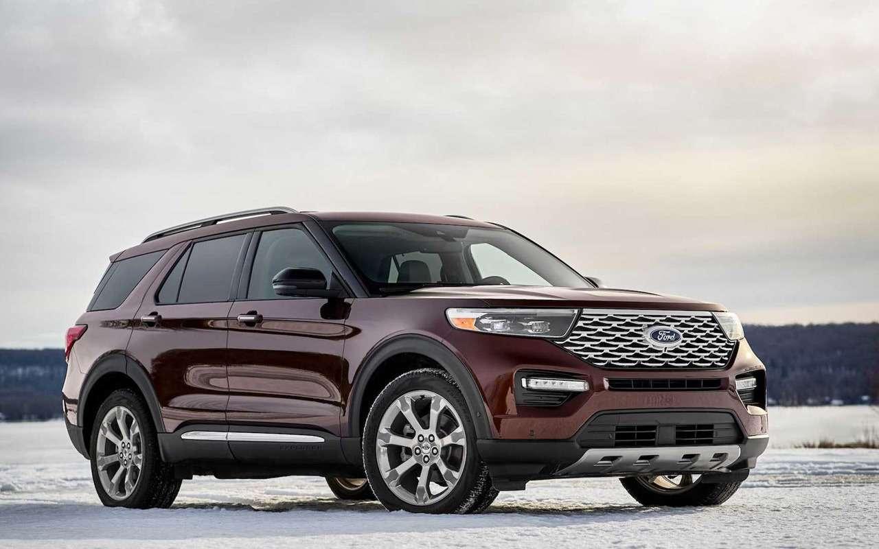 Новый Ford Explorer: официальные информация ифото— фото 938906