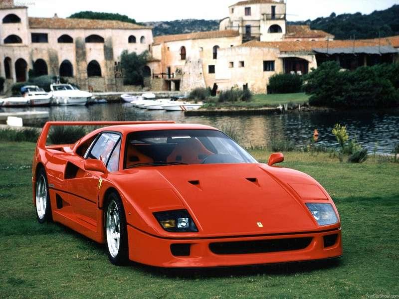 5 Ferrari F40 1987no copyright