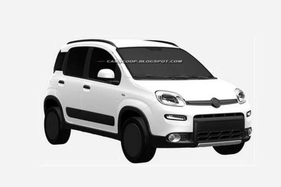 Fiat Panda 4x4 side-front view