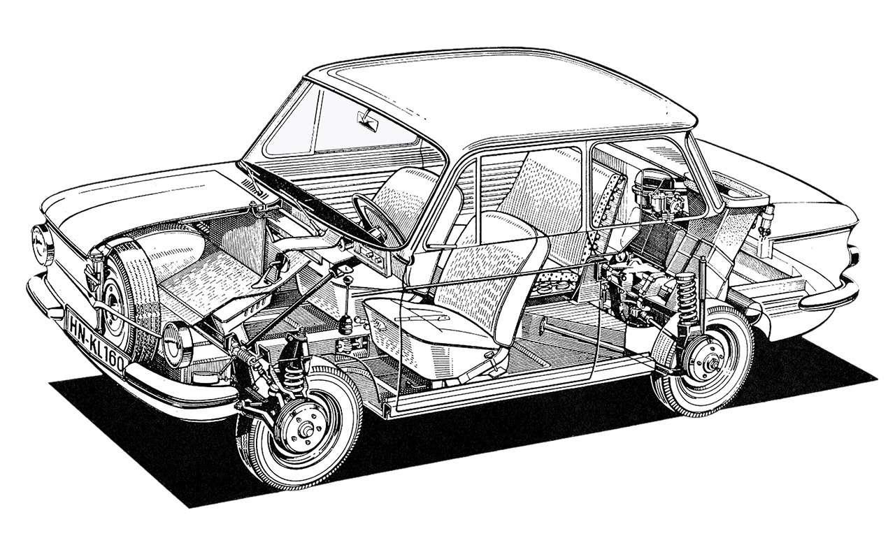 ЗАЗ‑966: история любимой машины наших дедов— фото 1211071