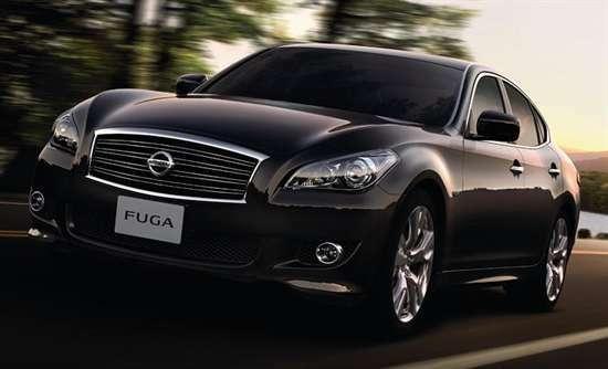 no copyright Nissan Fuga 2012