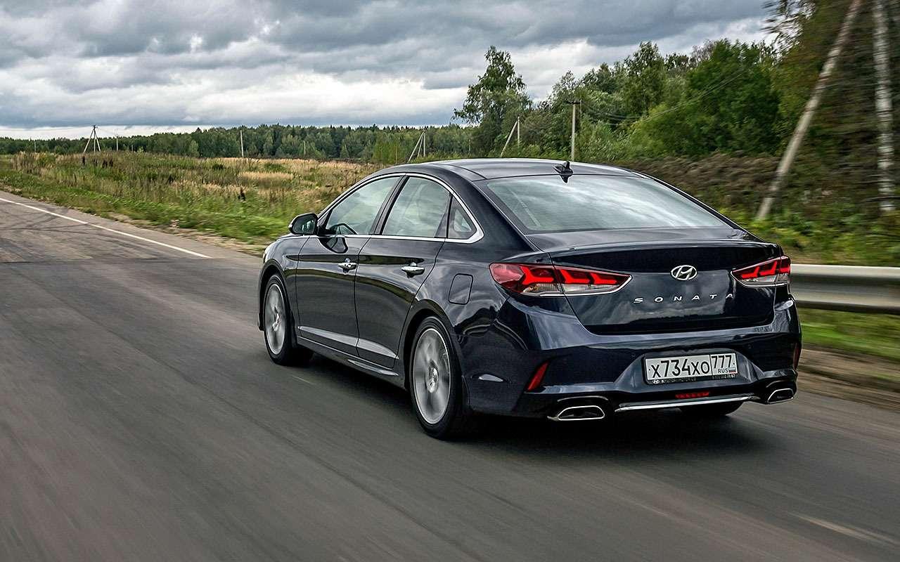 Новая Hyundai Sonata— первый тест-драйв— фото 798499