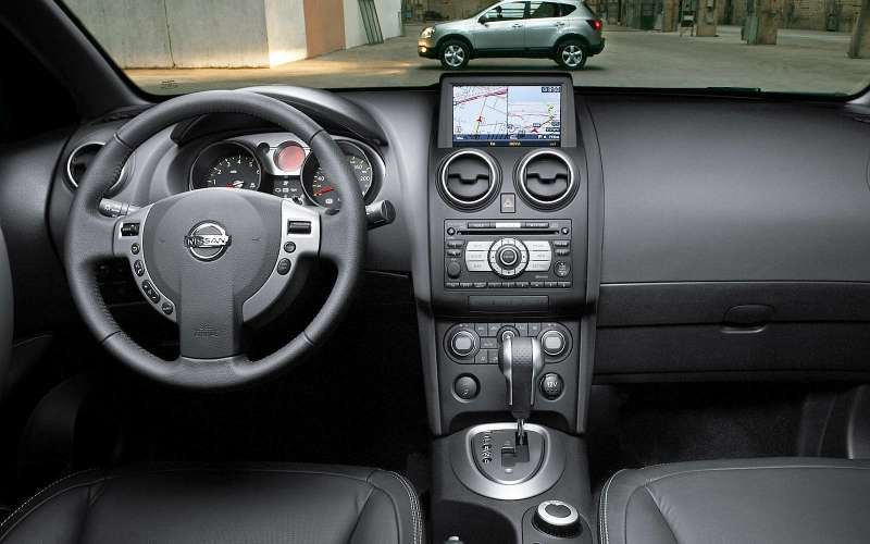 Интерьер Nissan Qashqai