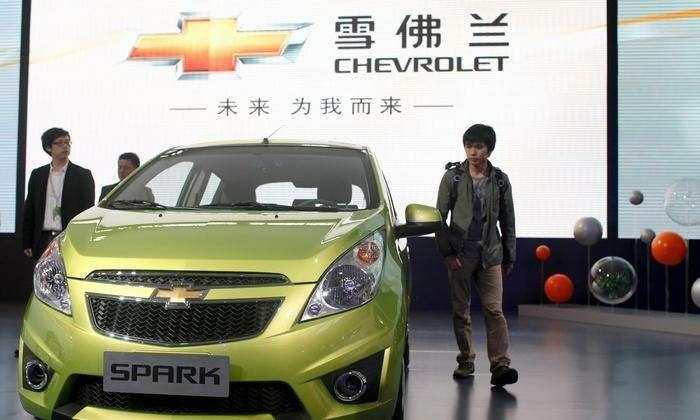 Премьера Chevrolet Spark вКитае