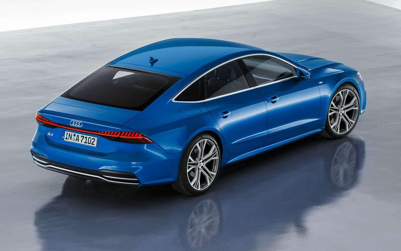 Новый Audi A7Sportback вРоссии: от4320000 рублей— фото 876039
