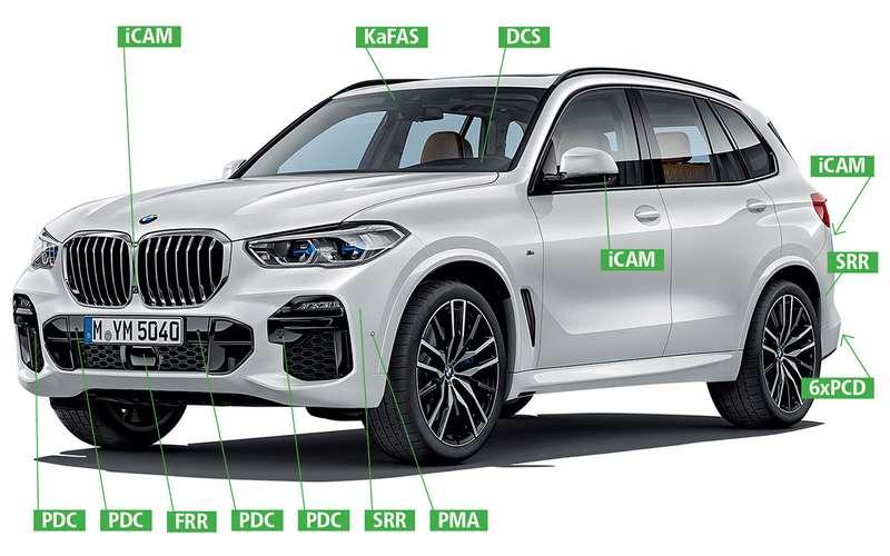 Новый BMW X5 —  у него теперь пневмоподвеска!