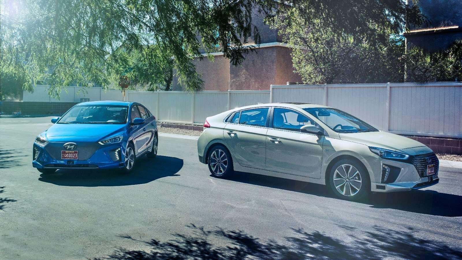 Беспилотный Hyundai Ioniq обойдется без «люстры»— фото 665147