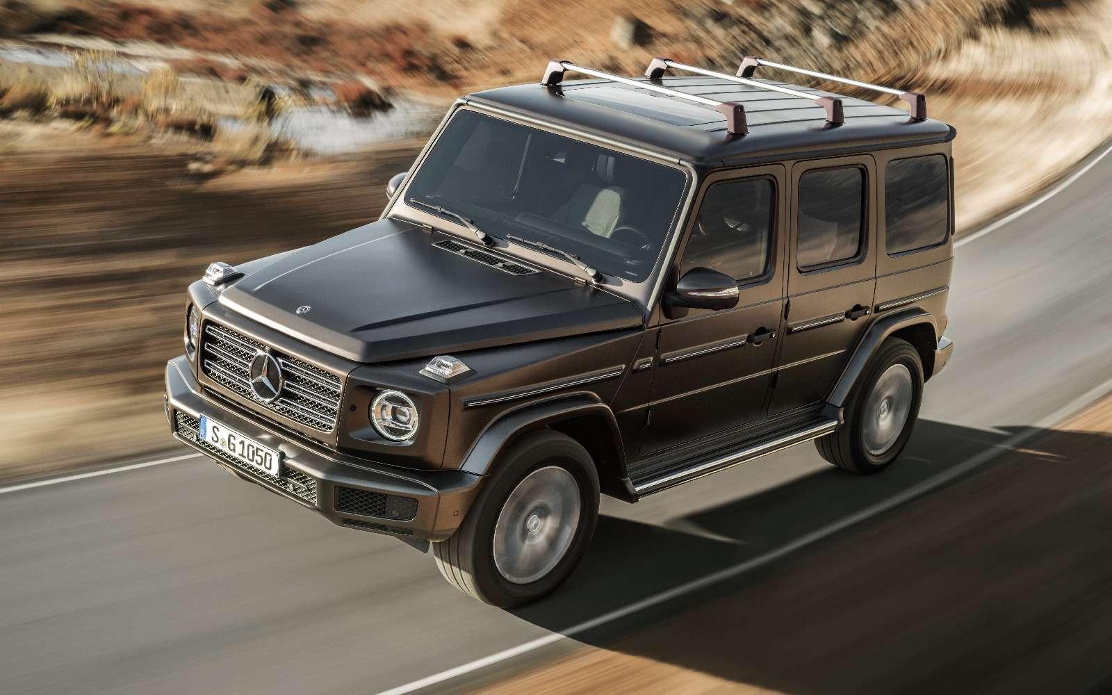 Длинный нос: новый Mercedes-Benz G-класса представлен официально— фото 835947