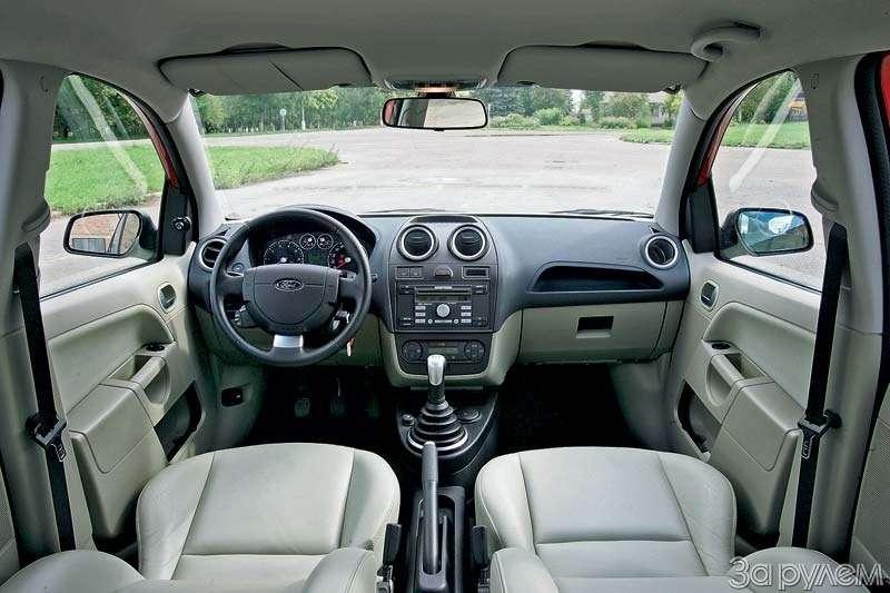 Тест Lada Kalina, Hyundai Getz, Ford Fiesta. Вкомпании спровинциалом.— фото 68901