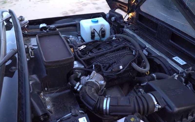 Niva Legend получила новый мощный мотор