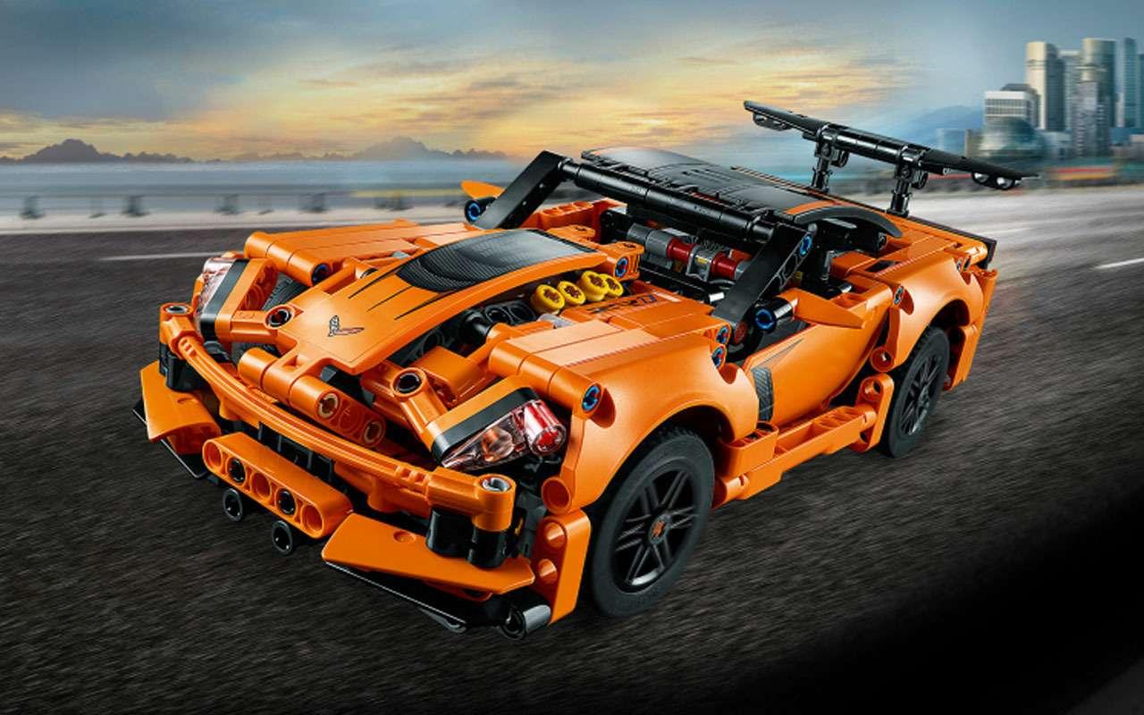 7 потрясающих машин LEGO— отличный подарок— фото 1208303