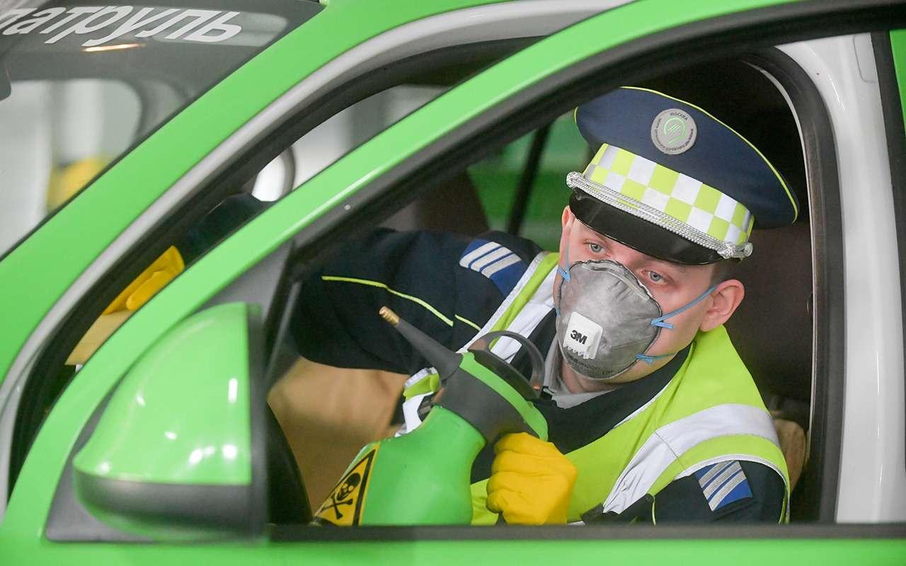 Автомобили, штрафующие запарковку, теперь обрабатывают хлоркой— фото 1097843