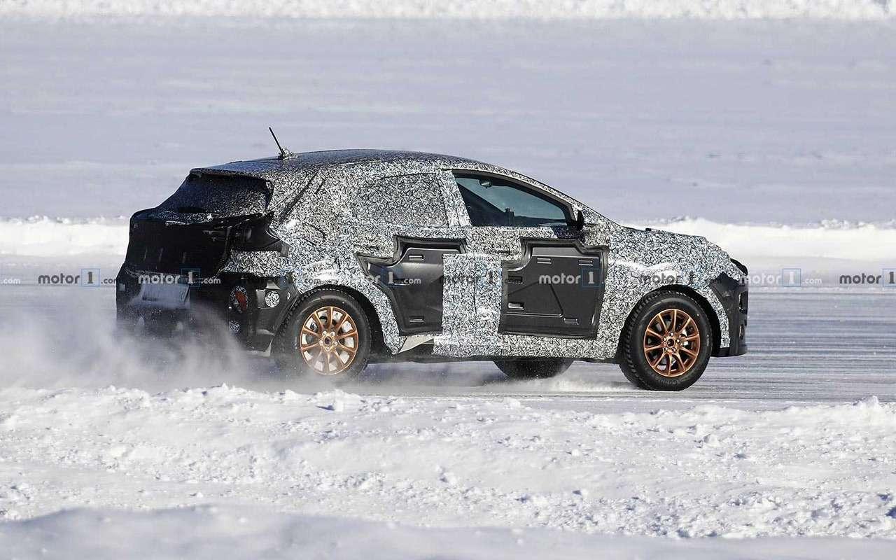 Кроссовер Ford Fiesta будет похож накупе— фото 956831