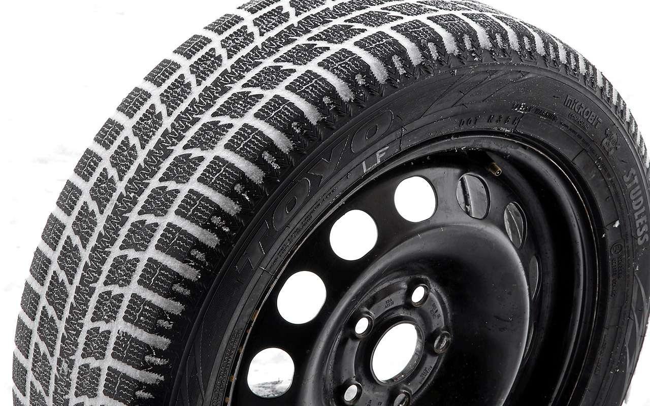Нешипованные шины длямашин гольф-класса— большой тест ЗР— фото 807226
