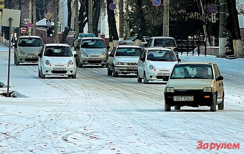 Наулицах Ташкента идругих городов страны преобладают «нашемарки».