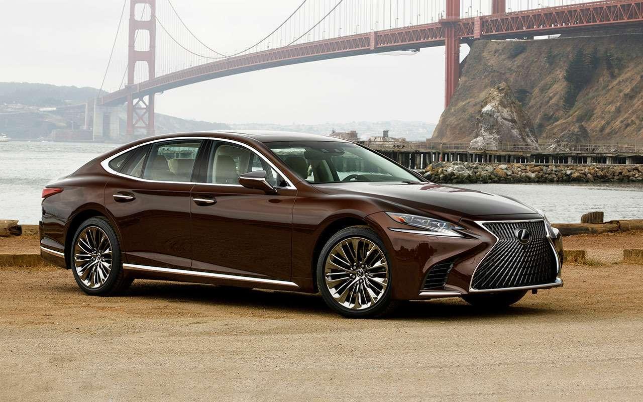 Новый Lexus LS— первый тест-драйв— фото 799449