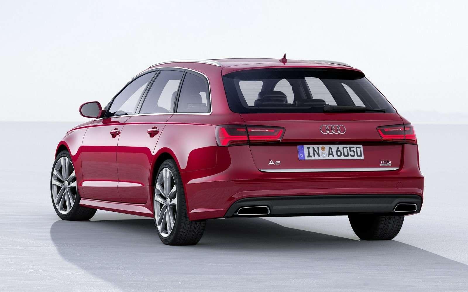 Обновленное семейство Audi A6/A7 хочет понравиться гаджетоманам— фото 579084