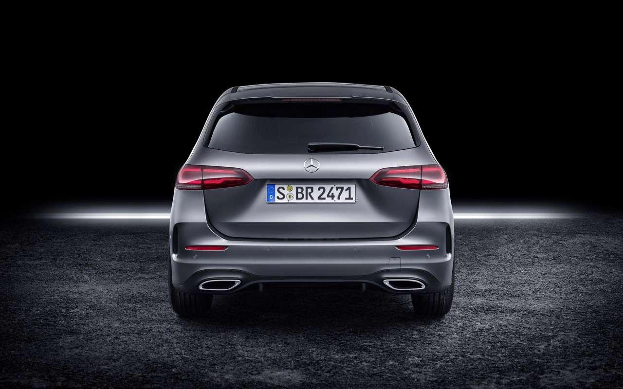 Новый Mercedes-Benz B-класса: онполучил опции отроскошного S-класса— фото 910411