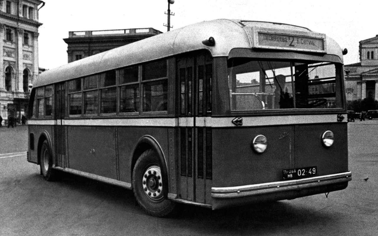 Советский гибридный автобус: заглянули вего родословную— фото 1232021