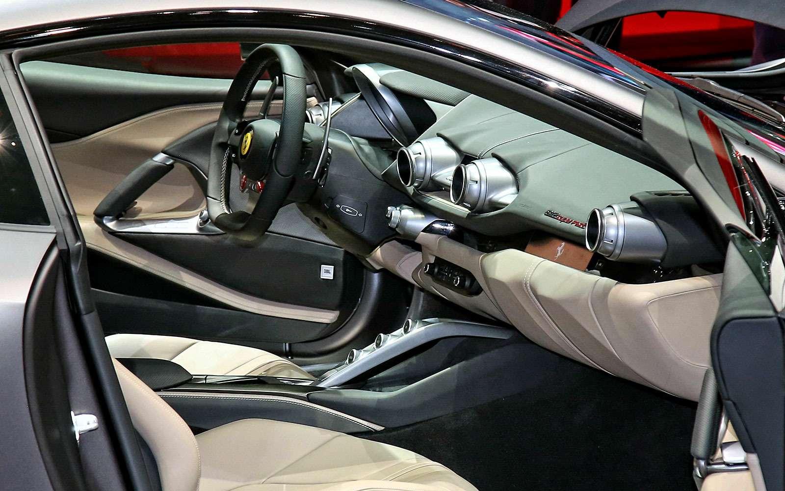 Король Женевы: Ferrari 812 Superfast вовсем великолепии— фото 718308