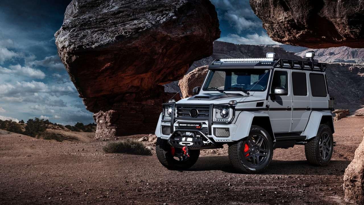 Мега-«гелик»: Brabus 550 Adventure 4x4² отвезет накрай света— фото 718894
