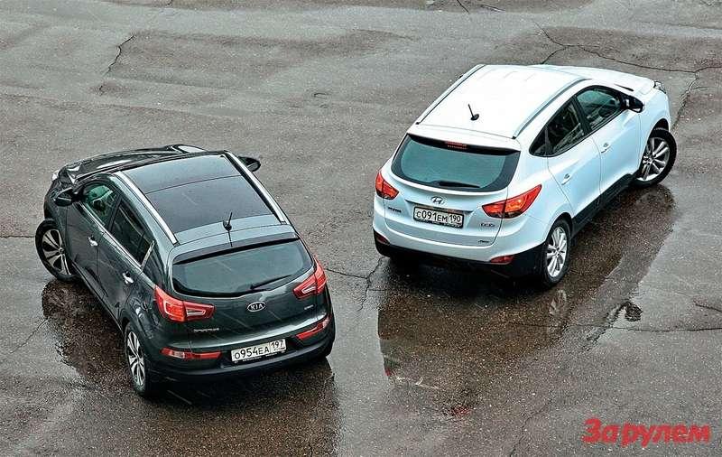 KiaSportage, Hyundai ix35