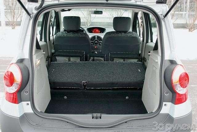 Тест Renault Modus, Peugeot 1007, Honda Jazz. Загадки малых форм— фото 61776