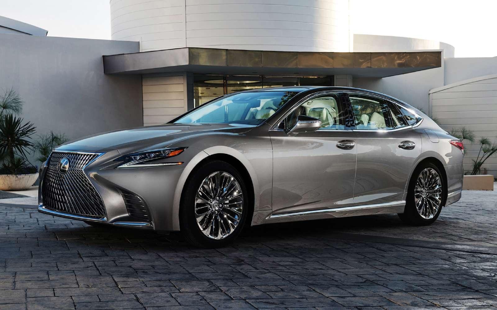 Проглотить S-класс: вДетройте дебютировал новый Lexus LS— фото 690256