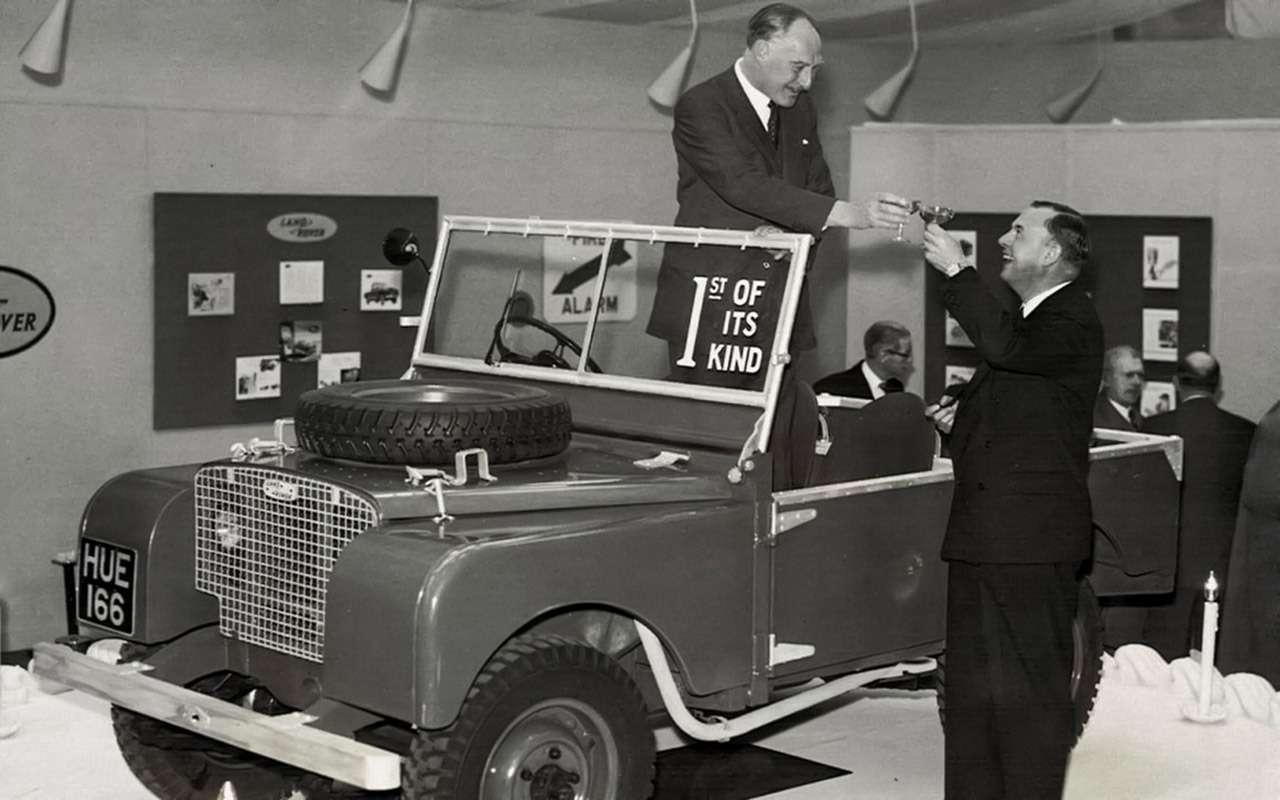 Land Rover Defender: тест сразницей в40лет— фото 1247854