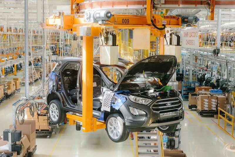 Форд Sollers запустил серийное производство нового кроссовера Форд EcoSport