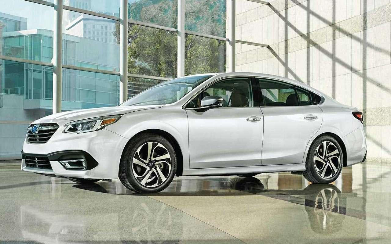 Subaru представила новое поколение Legacy: ждем вРоссии— фото 947325