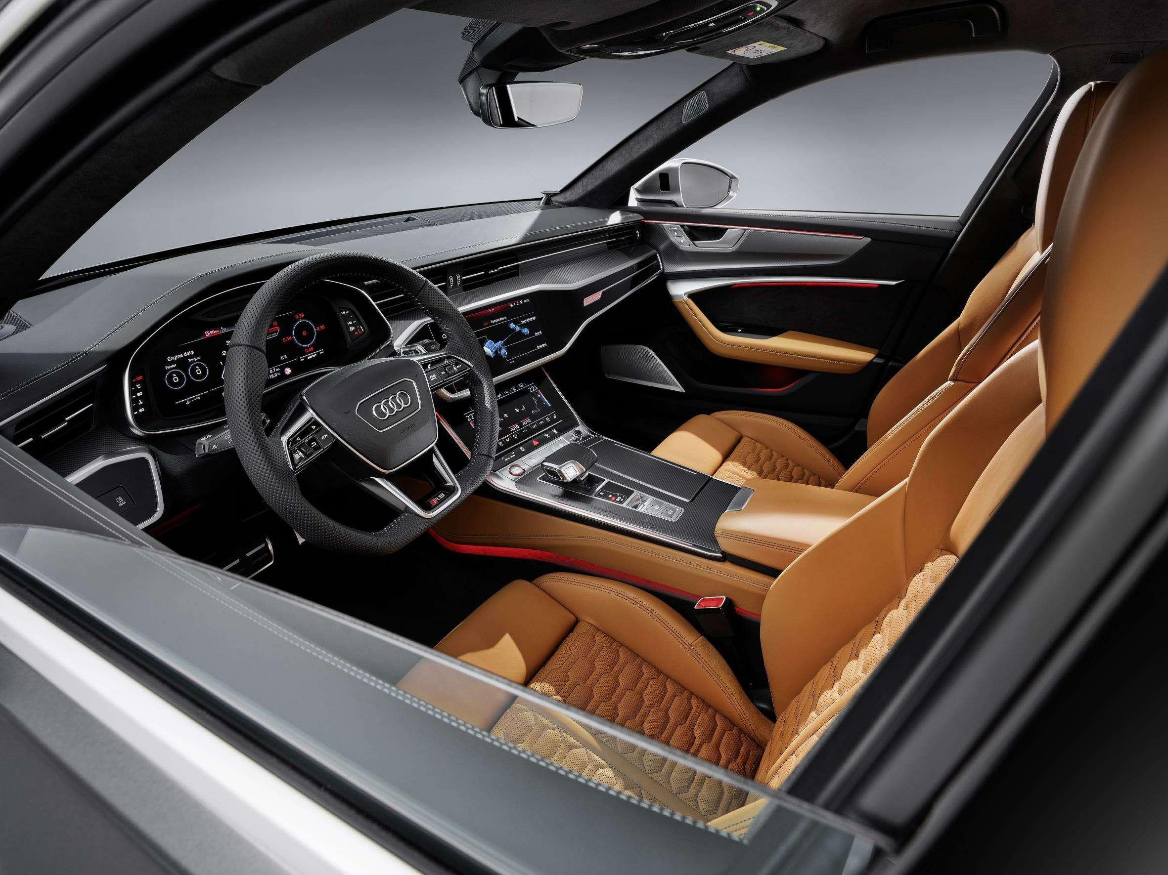 Audi сделала 600-сильный универсал A6с фарами отA7— фото 993276
