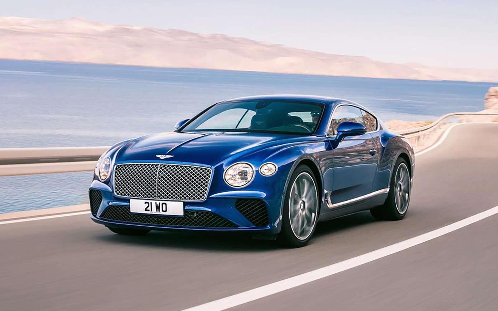 Новый Bentley Continental GT: двухдверная Panamera по-британски— фото 789195