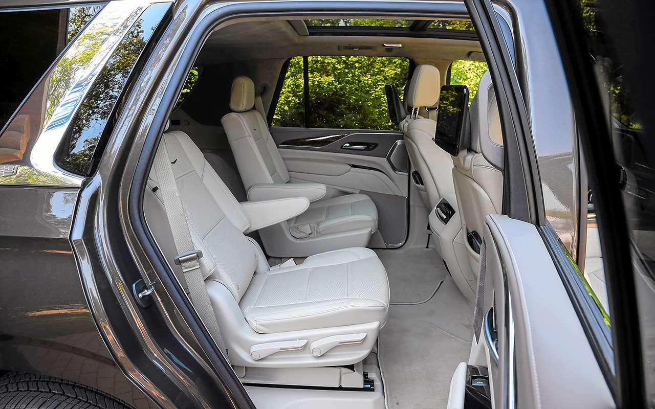 Новый Cadillac Escalade: 3дисплея, 36динамиков, 416«лошадей»— фото 1268632