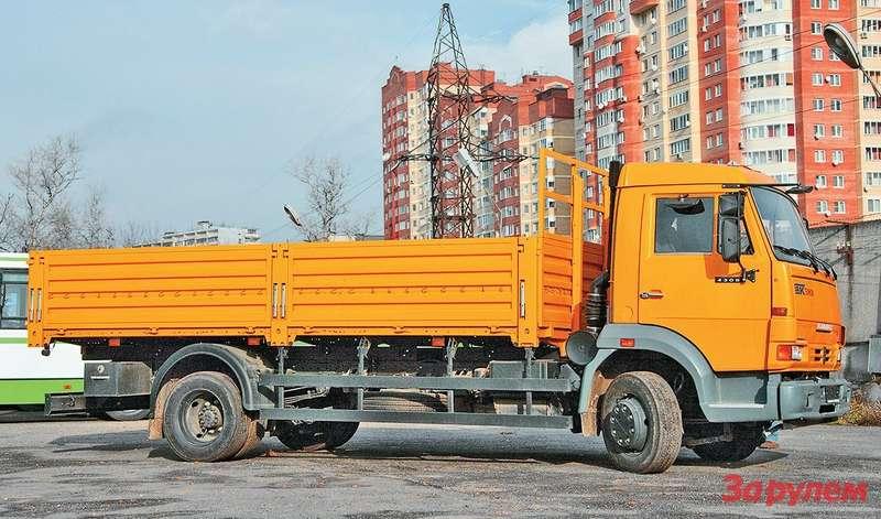 Пока наКАМАЗ-4308 самый длинный кузов — шестиметровый